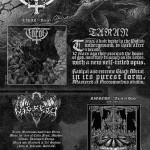 Wieści z Odium Records: pre order i klipy promujące nowe albumy Taran i Nigredo