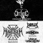 Dekada Gniewu. X-lecie Decline: Dysphoria, Infer, Decline, North, Ad Hominem; Underground Pub; Tychy; 18.04.2015