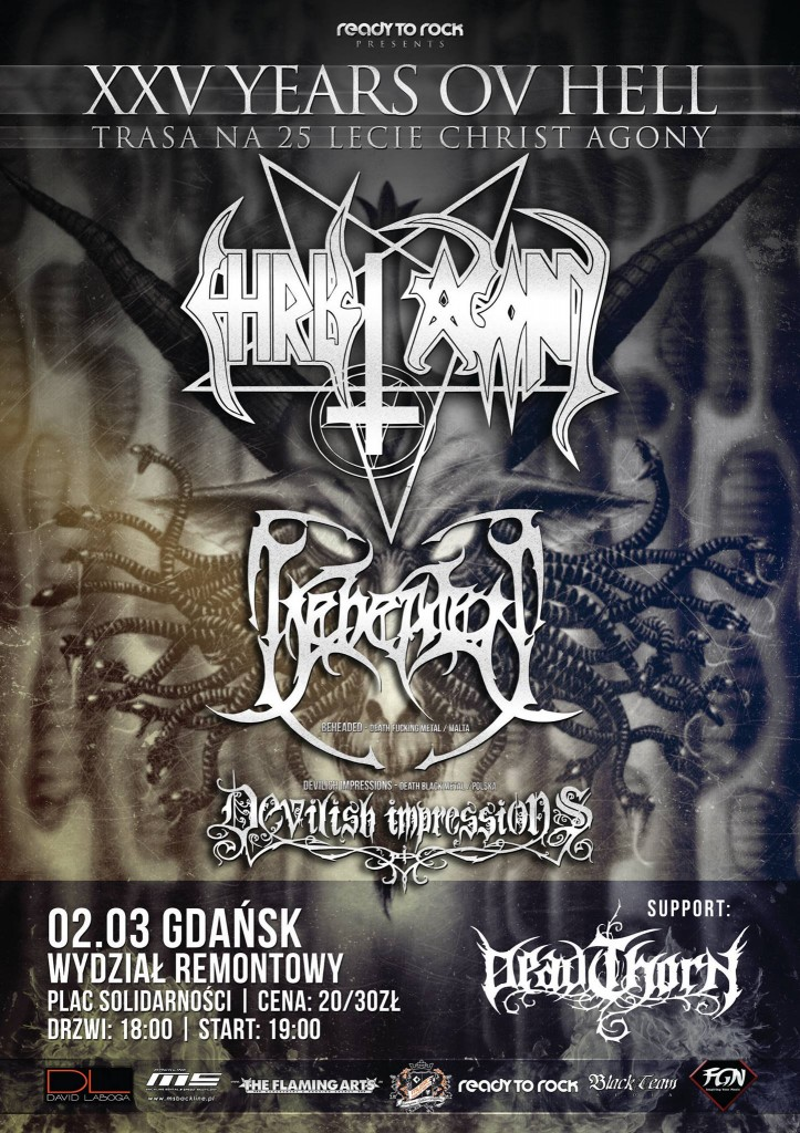 XXV Years Ov Hell - Christ Agony - Gdańsk