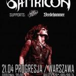 Satyricon, Oslo Faenskap, Vredehammer; Warszawa, Klub Progresja; 21.04.2015