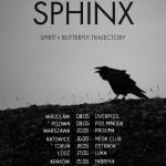 Obscure Sphinx, Spirit, Butterfly Trajectory, Vidian; Klub Muzyczny Ucho, Gdynia; 29.05.2015
