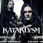 Kataklysm, Septicflesh i Aborted na dwóch gigach w Polsce