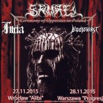 Samael, Furia, Bloodthirst; Kraków, Klub Fabryka; 26.11.2015
