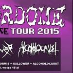 Fotorelacja z Machete Justice Tour: Terrordome, Formis, Alcoholocaust, Gallower; Częstochowa, Galeria Teatr from Poland; 4.06.2015