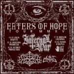 Fotorelacja z Eaters of Hope Tour: Infernal War, Outre, Morthus; Warszawa, Progresja; 14.10.2015