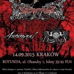 Saturnus, Autumnal, Doomas; Kraków, Rotunda 14.09.2015