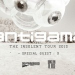 The Insolent Tour: Antigama, X, Nuclear Holocaust; Rzeszów, Klub Vinyl; 6.11.2015