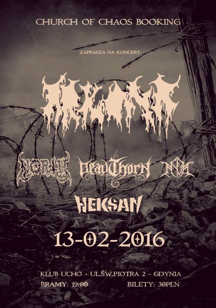 Arkona, North, Deadthorn, Nyja, Heksan 13.02.2016