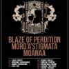 Days of No Light Tour 2015; Blaze Of Perdition, Mord'A'Stigmata, Moanaa; Klub Zaścianek; 14.11.2015
