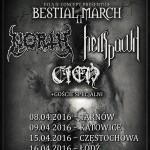 Bestial March II w pięciu miastach