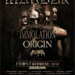 Marduk, Immolation, Origin, Bio – Cancer; Katowice, Mega Club; 20.05.2016
