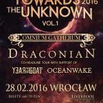 Fotorelacja z Draconian, Omnium Gatherum, Year of the Goat, Oceanwake; Wrocław, Klub Liverpool, 28.02.2016