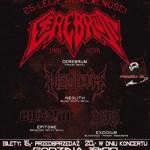 25-lecie działalności Cerebrum: Cerebrum, Neolith, Epitome, Excidium; Rzeszów, Klub Vinyl; 19.03.2016