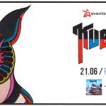 Fotorelacja z Kvelertak, The Black Thunder; Wrocław, Klub Firlej; 21.06.2016