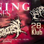 Burning the Masses: Crystalepsy, Disorder, Oblivion; Jelenia Góra, Klub Alternatywa; 28.05.2016