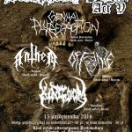 The True Blasphemy Night Act V – Riese, Offence, Anthem, Genital Putrefaction; Gdańsk, Protokultura; 15.10.2016