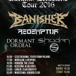 Autumn Delusions Tour 2016: Banisher, Redemptor, Shodan, Oblivion; Wrocław, Klub Liverpool, 17.09.2016