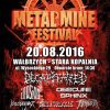 Metal Mine Festival; Wałbrzych, Stara Kopalnia; 20.08.2016