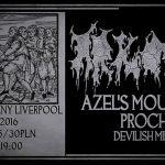 Arkona, Azel's Mountain, Proch, Devilish Mill; Wrocław, Klub Liverpool; 14.10.2016