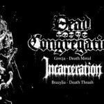 Dead Congregation, Incarceration, Warfist, Eteritus; Wrocław, Ciemna Strona Miasta; 25.10.2016