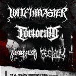 Witchmaster, Tortorum, Nekkrofukk, Morbital; Protokultura, Gdańsk; 24 listopada 2016;