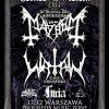 Metalowa Wigilia; Mayhem, Watain, Furia, Morthus, Au-Dessus; B90, Gdańsk; 18.12.2016
