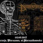 Demonomancy, Luctus,Crypts Of Despair na koncercie w Polsce