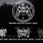 Anima Damnata, Mordhell, Moloch Letalis, UR; Wrocław, The Goats Club; 20.05.2017