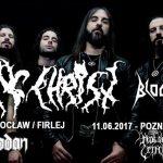 Rotting Christ, Bloodthirst, Shodan; Klub Firlej, Wrocław, 10.06.2017