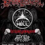 Embrional, Planet Hell, Halucynogen, Atropine; Rzeszów, Klub Vinyl; 27.05.2017