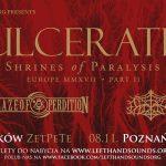 Ulcerate, Blaze of Perdition, Outre; Kraków, Klub Zet Pe Te; 7.11.2017