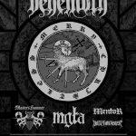 Merry Christless: Behemoth, Master's Hammer, Mgła, Witchmaster, Mentor; Warszawa, Klub Progresja; 15.12.2017