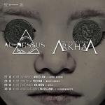 Fotorelacja z Au-Dessus, Postcards from Arkham, Above Aurora; Wrocław, Klub Liverpool; 27.10.2017