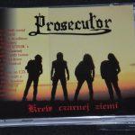 Wznowienie albumu Prosecutor po raz pierwszy na kompakcie