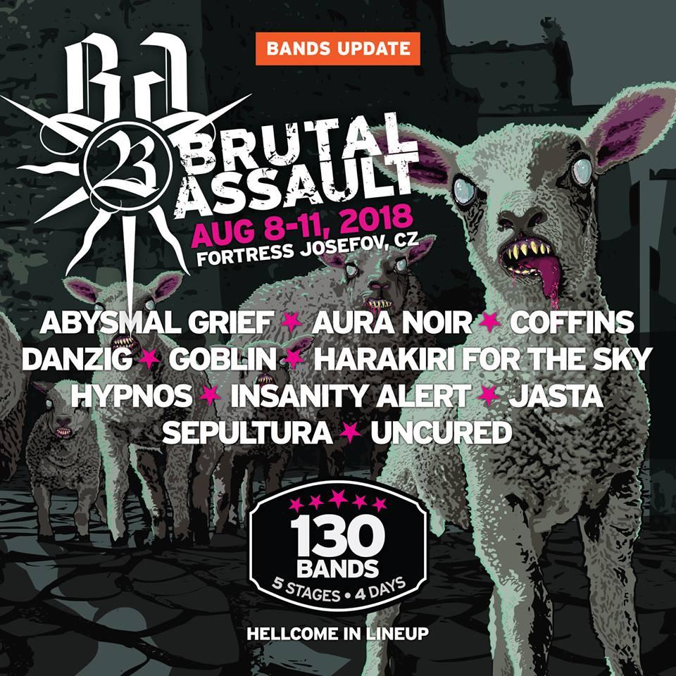 Nowe zespoły na Brutal Assault 2018