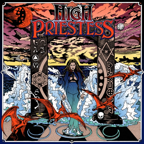 Okładka debiutu high-priestess