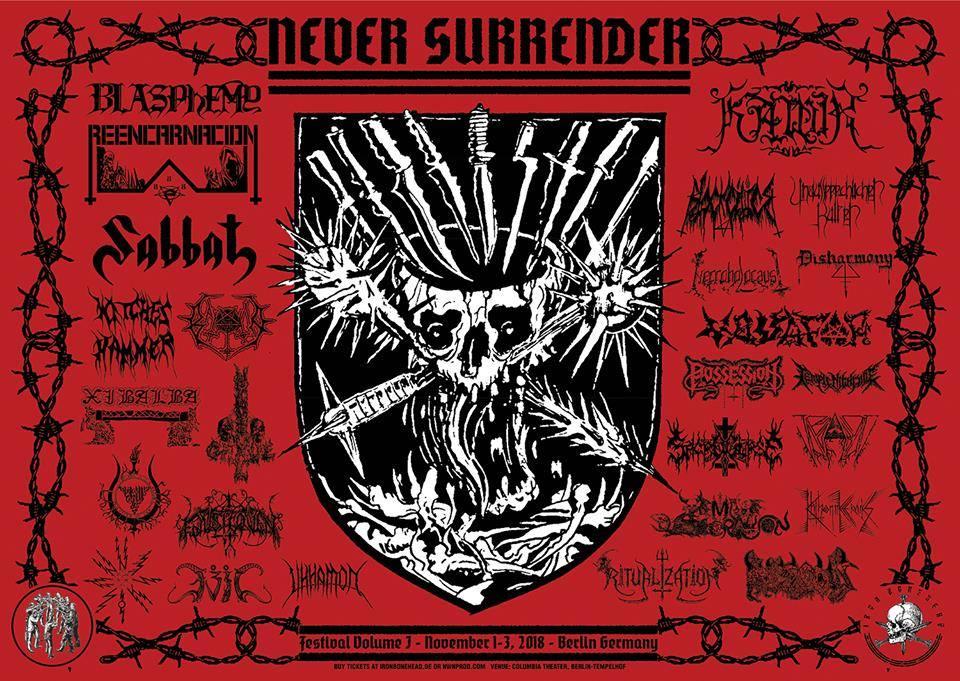 Never Surrender Festival rozpiska czasowa już dostępna