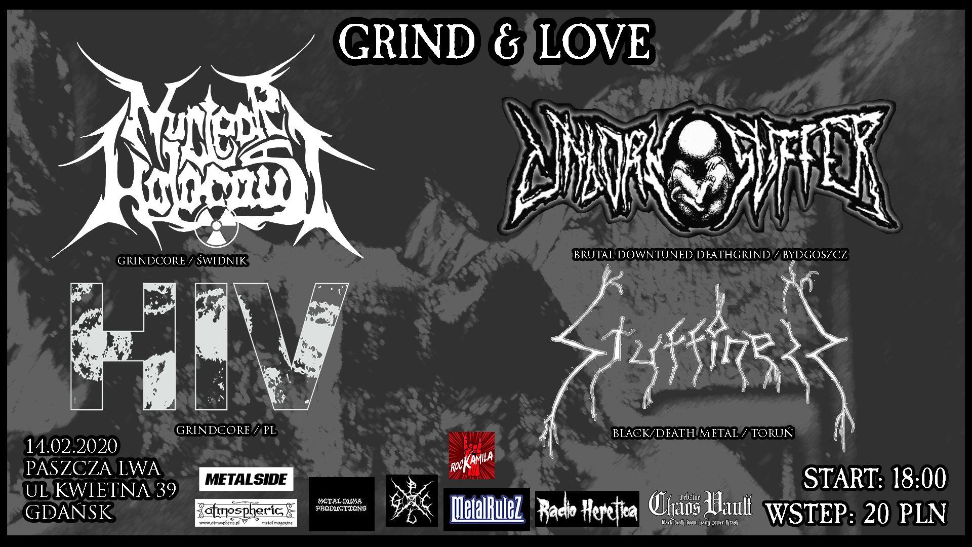 Grind & Love plakat
