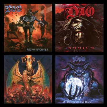 "Dio ""Angry Machines"", ""Magica"", ""Killing the Dragon"" i ""Master of the Moon"""