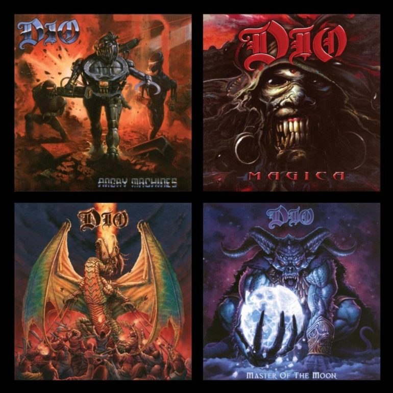 """Dio """"Angry Machines"""", """"Magica"""", """"Killing the Dragon"""" i """"Master of the Moon"""""""
