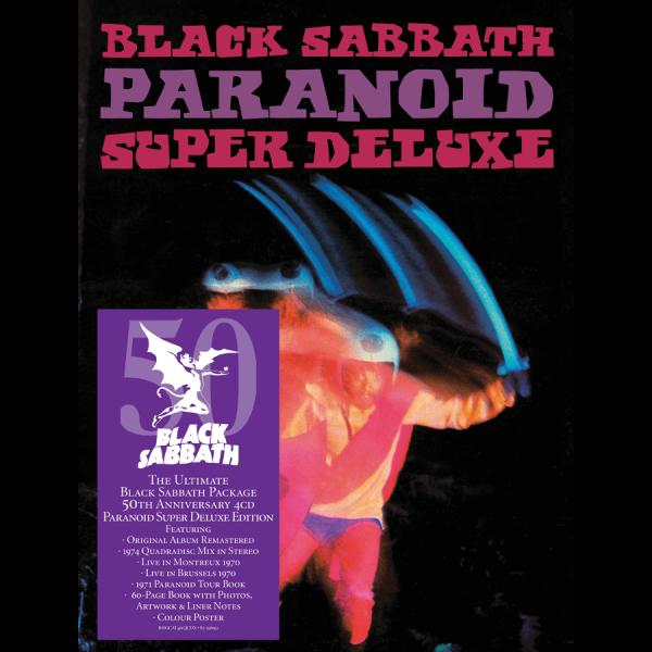 Black Sabbath > Paranoid